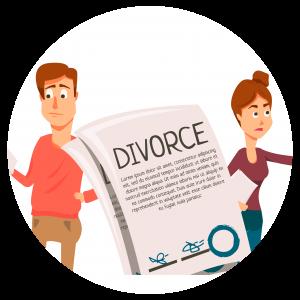 איור: זוג גרוש